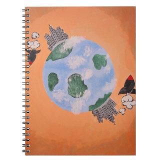 Soul Brute Creation Spiral Notebook