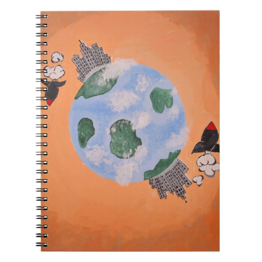 Soul Brute Creation Spiral Notebook