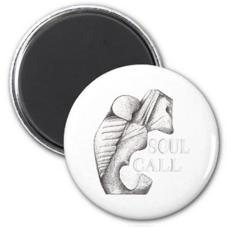 SOUL CALL 2 INCH ROUND MAGNET