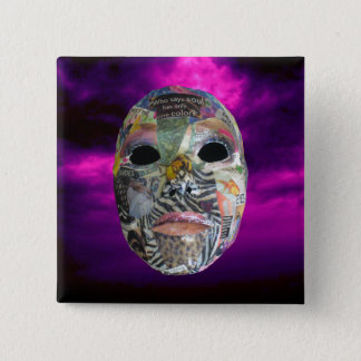 Soul Comes In All Colors Mask Button