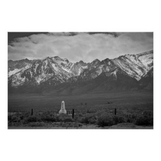 Soul Consoling Tower Humbled by the Mountians Poster
