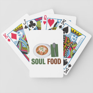 Soul Food Bicycle Playing Cards