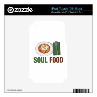 Soul Food iPod Touch 4G Skin