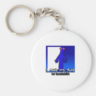 Soul for bandwidth keychains