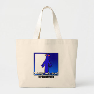 Soul for bandwidth tote bag