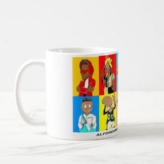 """Soul Fresh"" Kids in Squares Coffee Mug"
