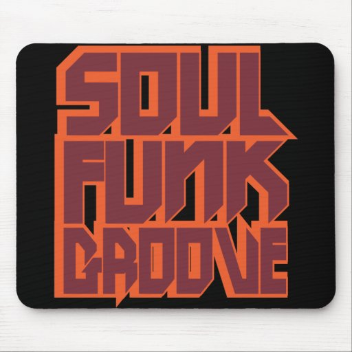 Soul Funk Groove Mouse Pad