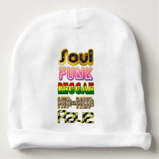 Soul, Funk, Reggae, Hip-Hop, Rave Baby Beanie