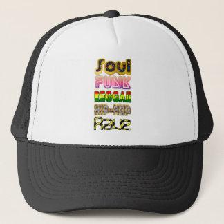 Soul, Funk, Reggae, Hip-Hop, Rave Trucker Hat
