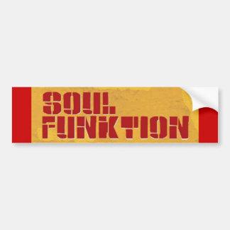 SOUL FUNKTION Bumper Sticker