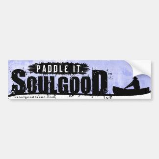 Soul Good Canoe Bumper Sticker