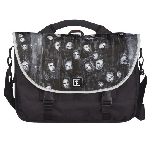 Soul Groups (black and white surrealism) Commuter Bags