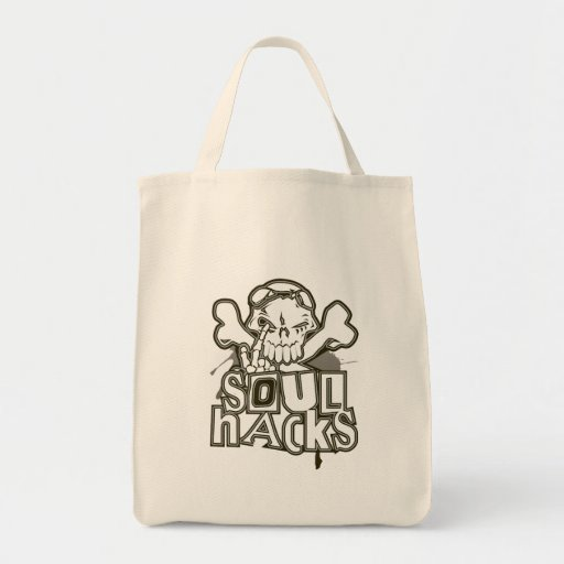 SOUL_HACKS GROCERY TOTE BAG