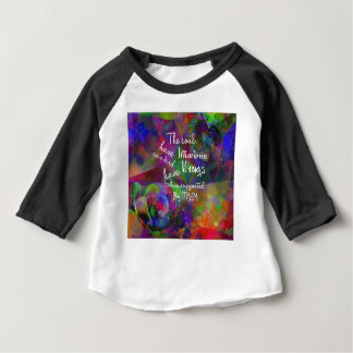 Soul have wings as bird baby T-Shirt