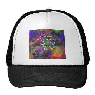 Soul have wings as bird trucker hat
