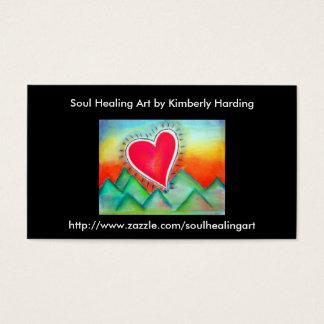 Soul Healing art business card