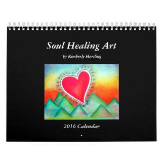 Soul Healing Art Calendar