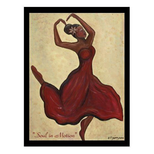 Soul in Motion Postcard