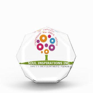 Soul Inspirations Inc Youth Development Program Acrylic Award