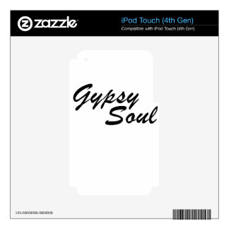 soul iPod touch 4G decals