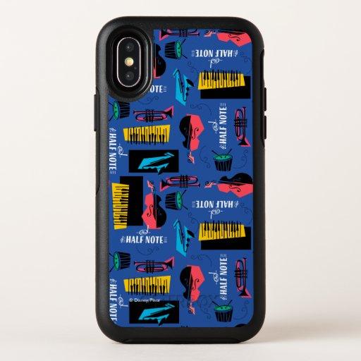 Soul | Jazz Instrument Pattern OtterBox Symmetry iPhone XS Case