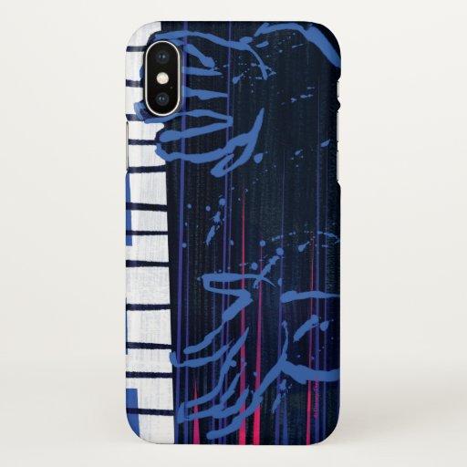 Soul | Jazz Piano Editorial Art iPhone X Case