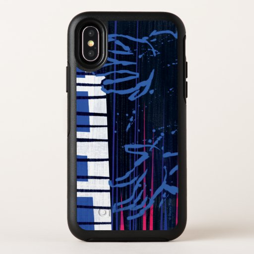 Soul | Jazz Piano Editorial Art OtterBox Symmetry iPhone XS Case