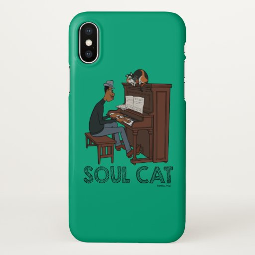 Soul | Joe & Mr. Mittens at the Piano iPhone X Case