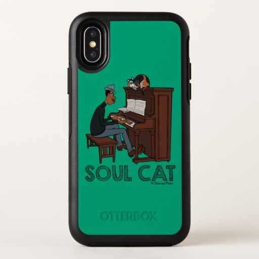 Soul | Joe & Mr. Mittens at the Piano OtterBox Symmetry iPhone XS Case