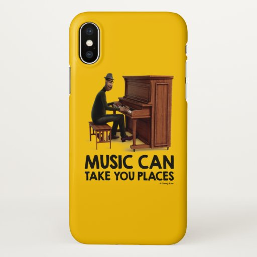 Soul | Joe - Music Can Take You Places iPhone X Case