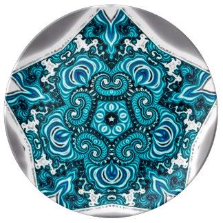 Soul Journey Mandala Porcelain Plates
