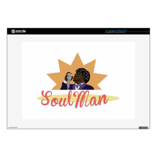 "Soul Man 15"" Laptop Skin"