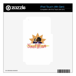 Soul Man Decal For iPod Touch 4G