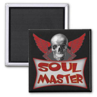 Soul Master Biker T shirts Gifts 2 Inch Square Magnet