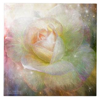 Soul Mate Rose Art Tile