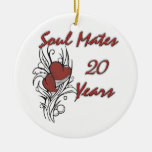 Soul Mates 20 Years Christmas Ornament