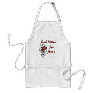 Soul Mates 2 Years Adult Apron