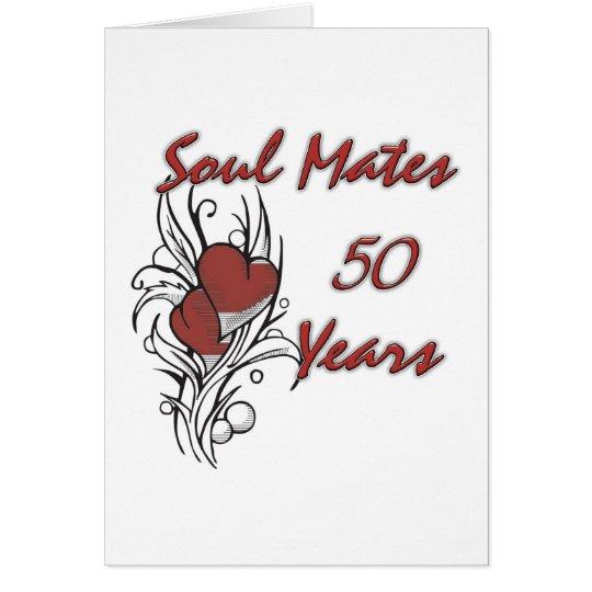 Soul Mates 50 Years Card