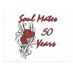 Soul Mates 50 Years Postcard