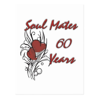Soul Mates 60 Years Postcard