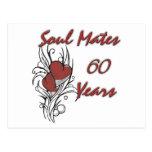 Soul Mates 60 Years Postcard