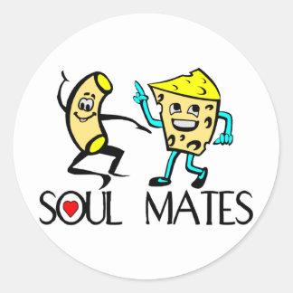 Soul Mates Best Friends Stickers