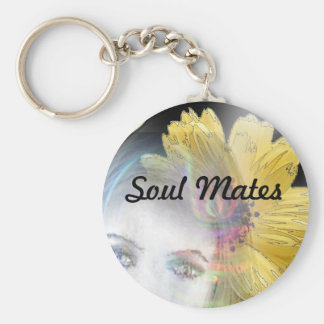 """""""Soul Mates Forever""""* Keychain"""