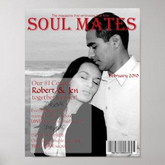 Soul Mates Magazine Cover 2 Print
