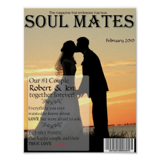Soul Mates Magazine Cover Poster