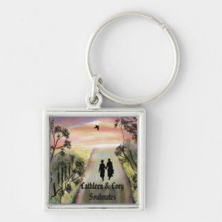 """Soul Mates"" personalized key ring""* Key Chain"