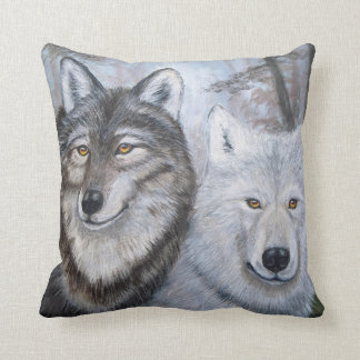 Soul Mates Pillow by Lori Karels
