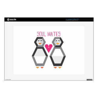 "Soul Mates Decal For 15"" Laptop"