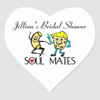 Soul Mates Heart Stickers