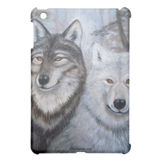 Soul Mates Wolves by Lori Karels Case For The iPad Mini